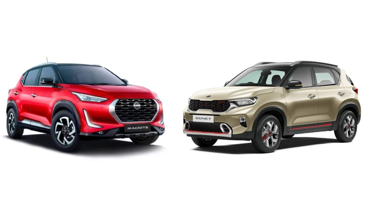 Nissan Magnite v Kia Sonet: Features difference