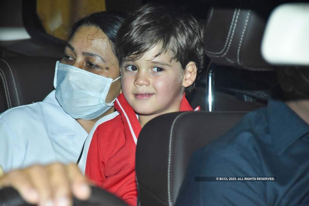Star kids attend Rani Mukerji's daughter Adira Chopra's birthday party