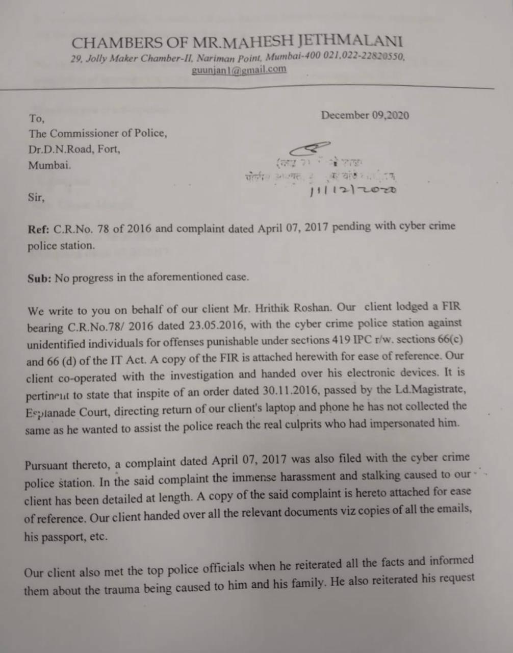Hrithik Roshan Letter (01).