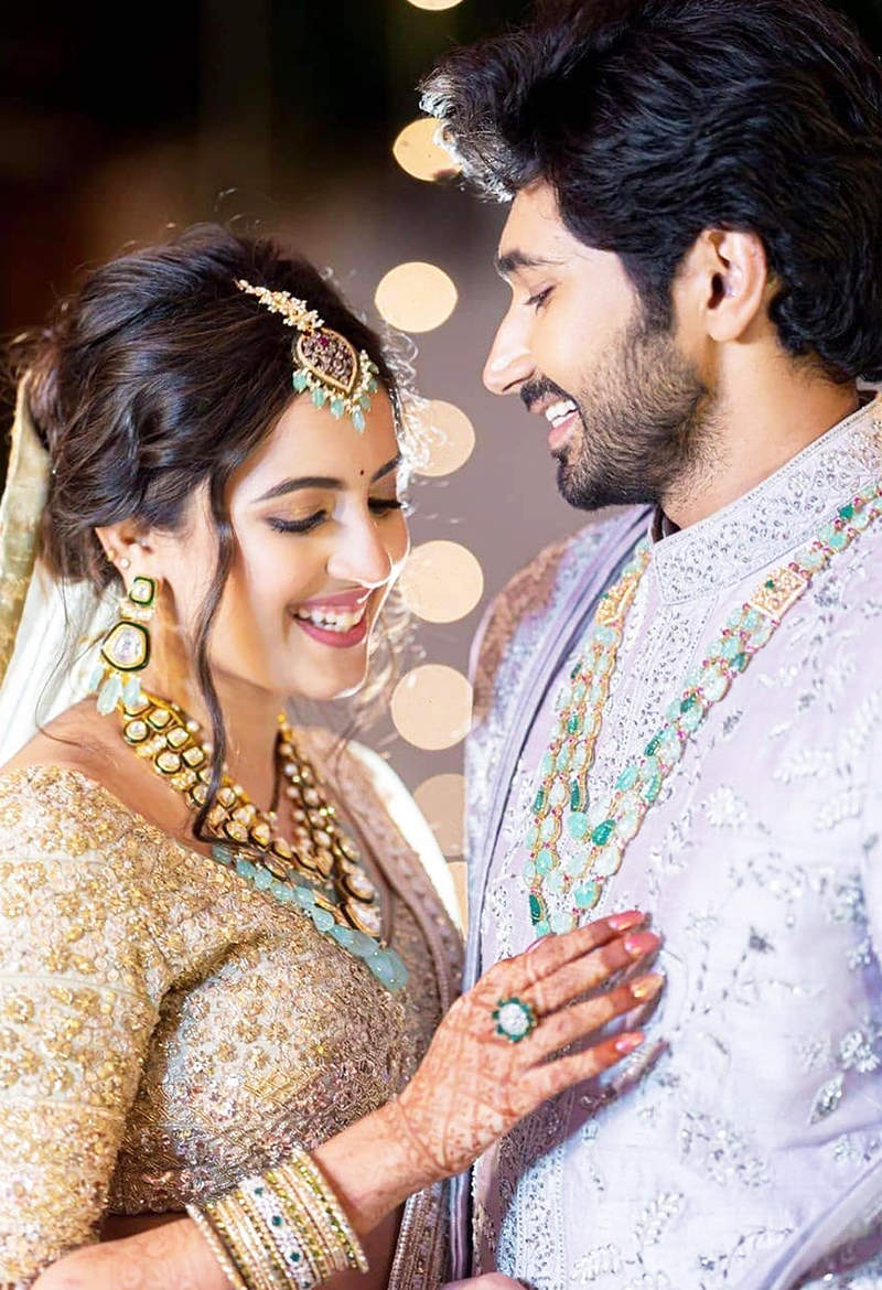Unmissable pictures from Niharika Konidela and Chaitanya JV's wedding reception