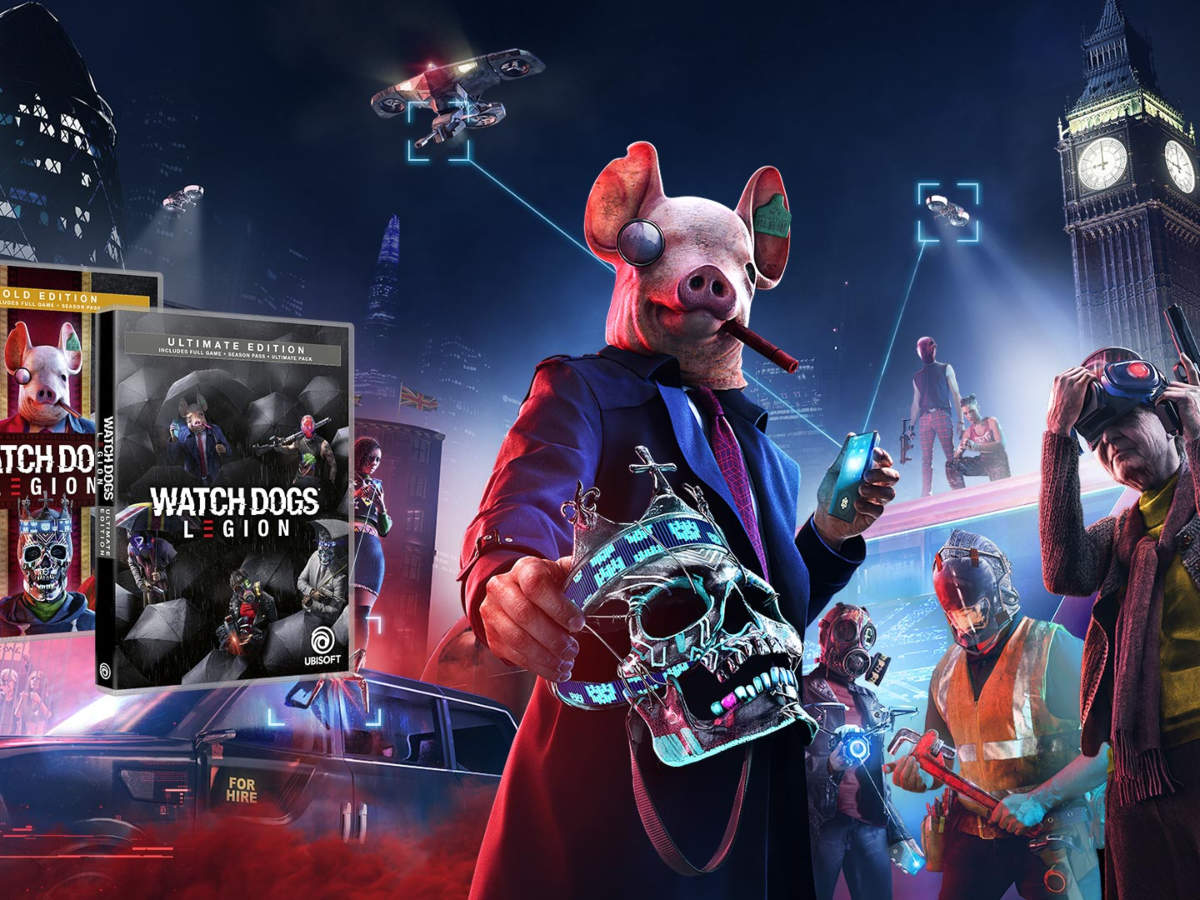 Watch Dogs Legion Watch Dogs Legion Minimum And Recommended System Requirements For Pc Gaming News Gadgets Now