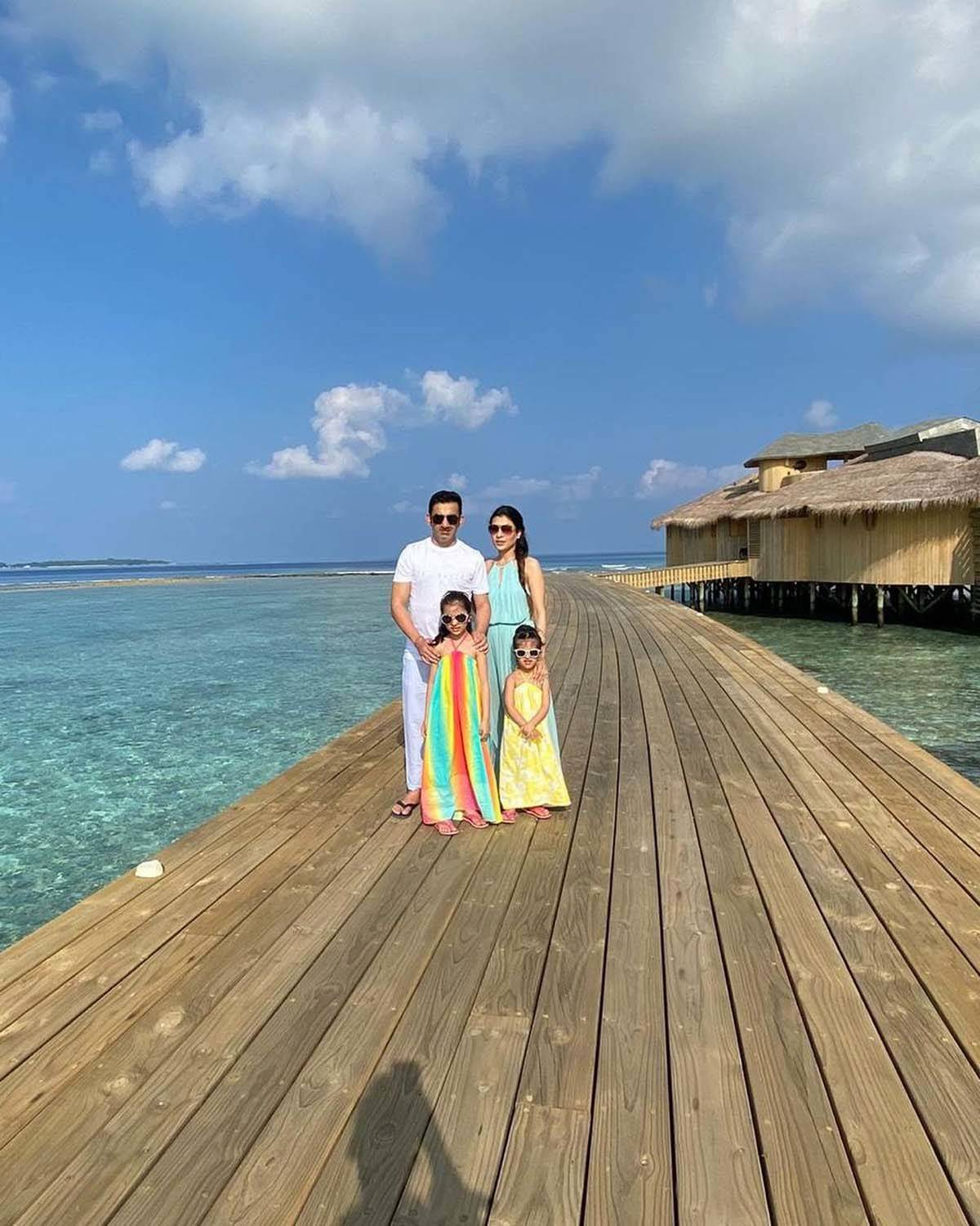 Picture perfect moments of Gautam Gambhir and his wife Natasha Jain