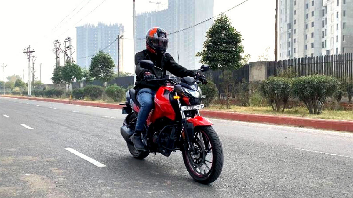 Xtreme 160R: Cycle parts