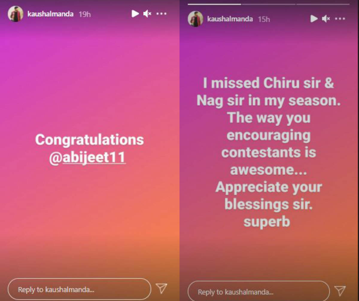 Kaushal wishes Abhi