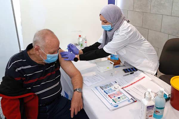 Israeli PM Benjamin Netanyahu receives Covid-19 vaccine jab