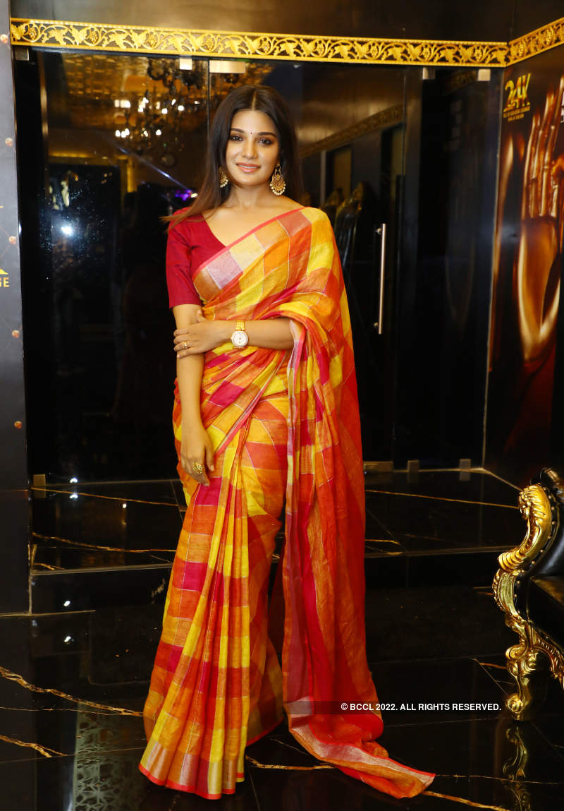 Chennaiites arrive in their fashionable best at this event
