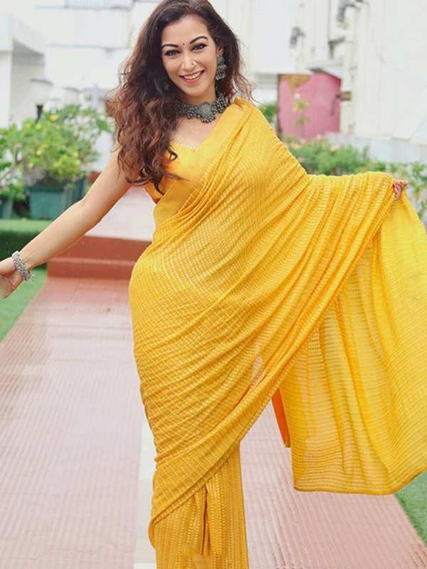 Taarak Mehta Ka Ooltah Chashmah's Anjali Bhabhi aka Sunayana Fozdar looks no less than a diva