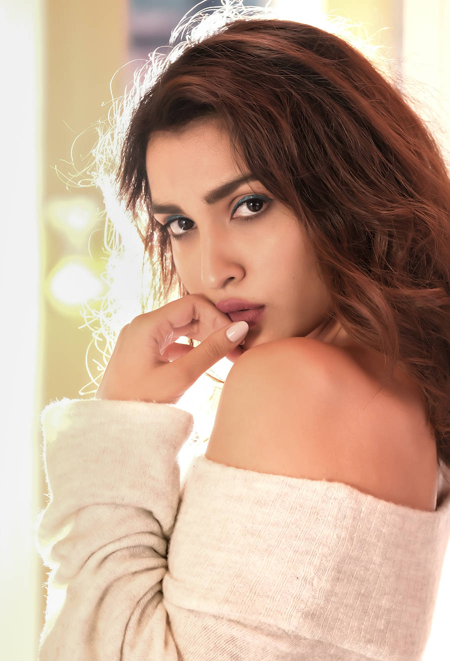 Gorgeous photoshoots of Jahnavi Dhanrajgir who's excited for her debut in Bolo Hau