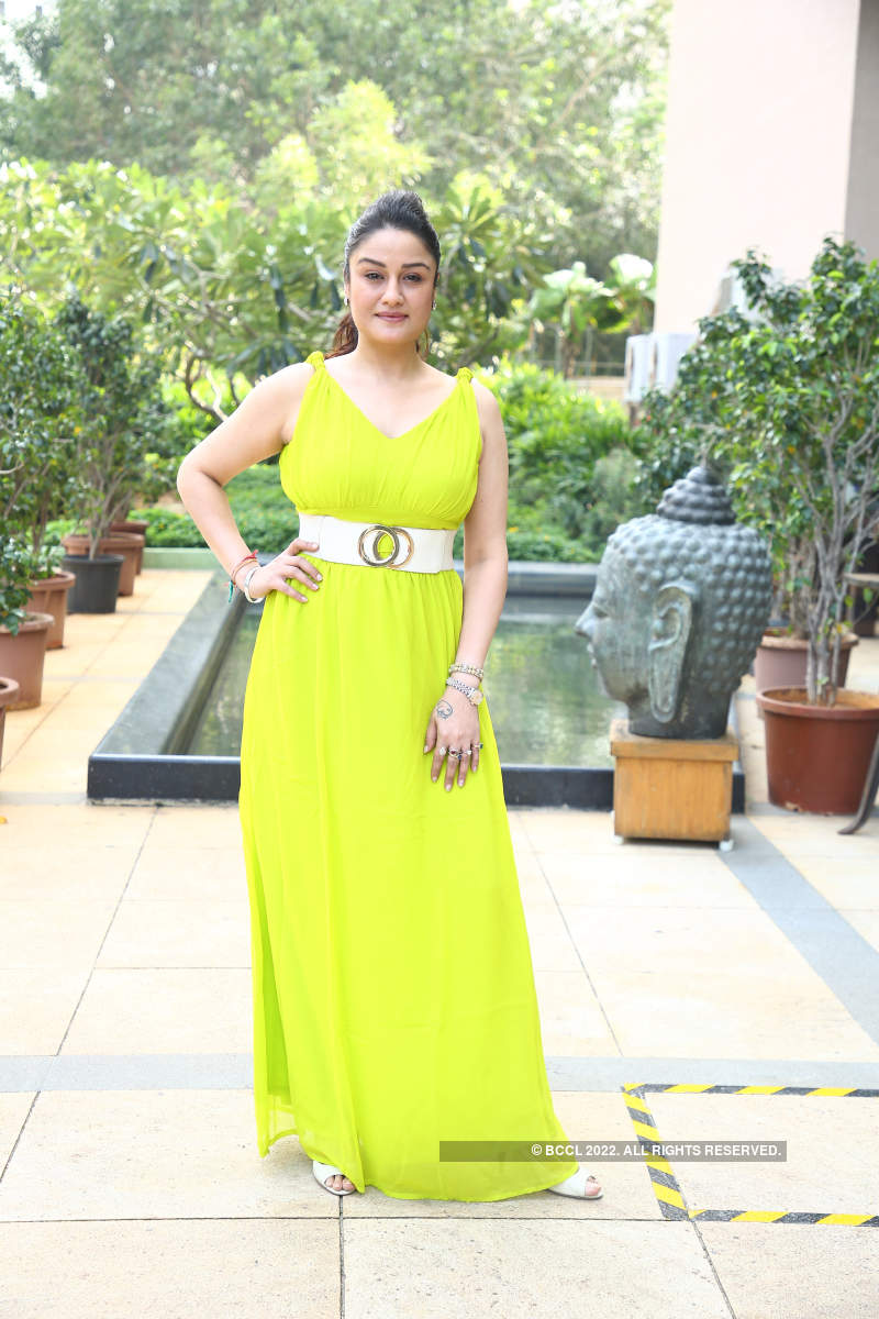 Sonia Aggarwal attends the launch of Nakshatra Enclave