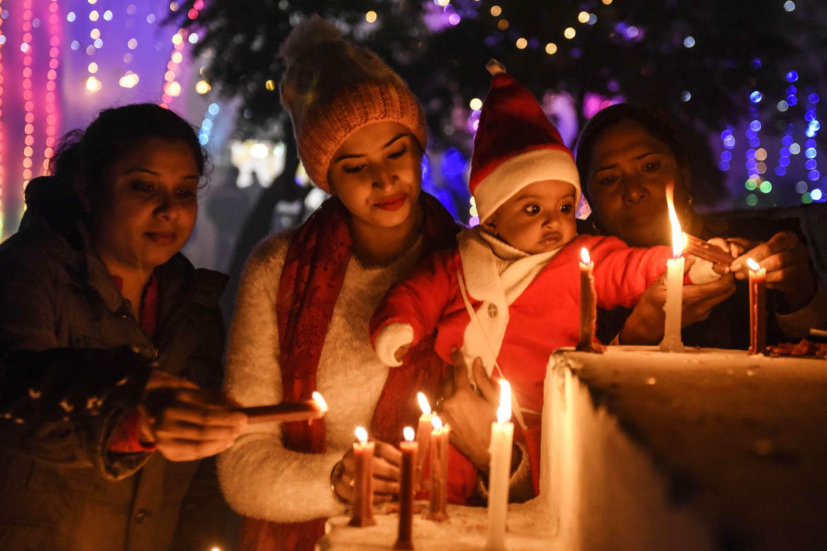 These pictures show how Indians are celebrating Christmas