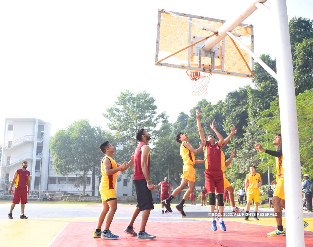 A memorable basketball match at the LU court