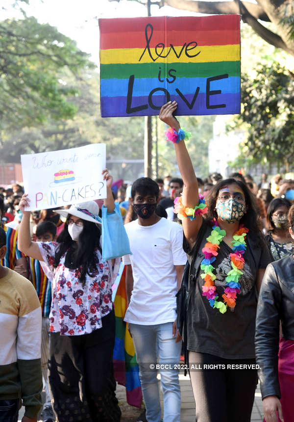 LGBTQ community organises 'Namma Pride March' in Bengaluru