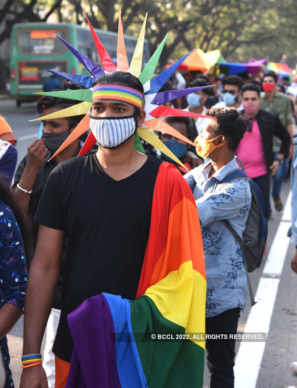LGBTQ community organises 'Namma Pride March' in Bengaluru