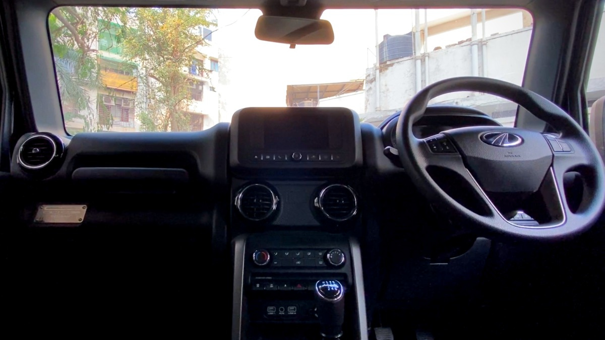 Infotainment and steering wheel