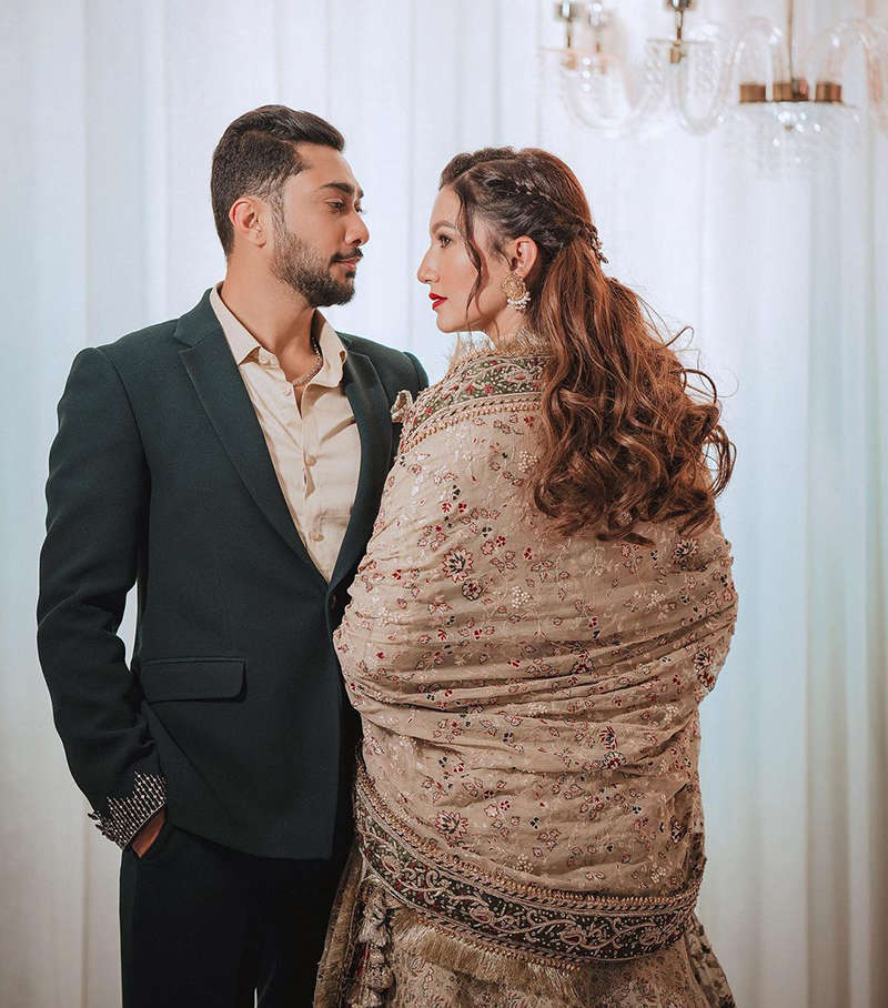 Lovely pictures from Gauahar Khan and Zaid Darbar's wedding ceremony