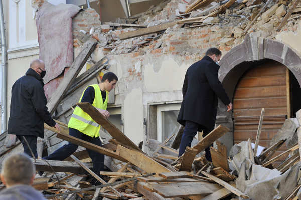 Several killed as powerful 6.4 magnitude earthquake hits Croatia
