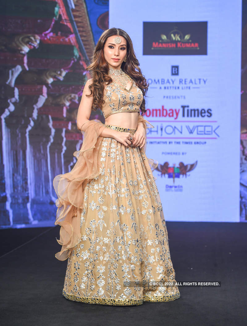 Bombay Times Fashion Week: Day 4 - Manish Kumar