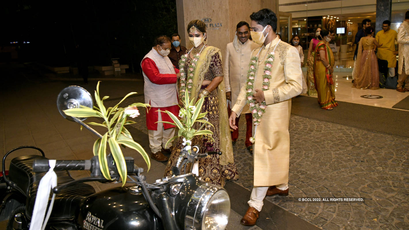 Weddings in the city follow all safety norms as cases rise