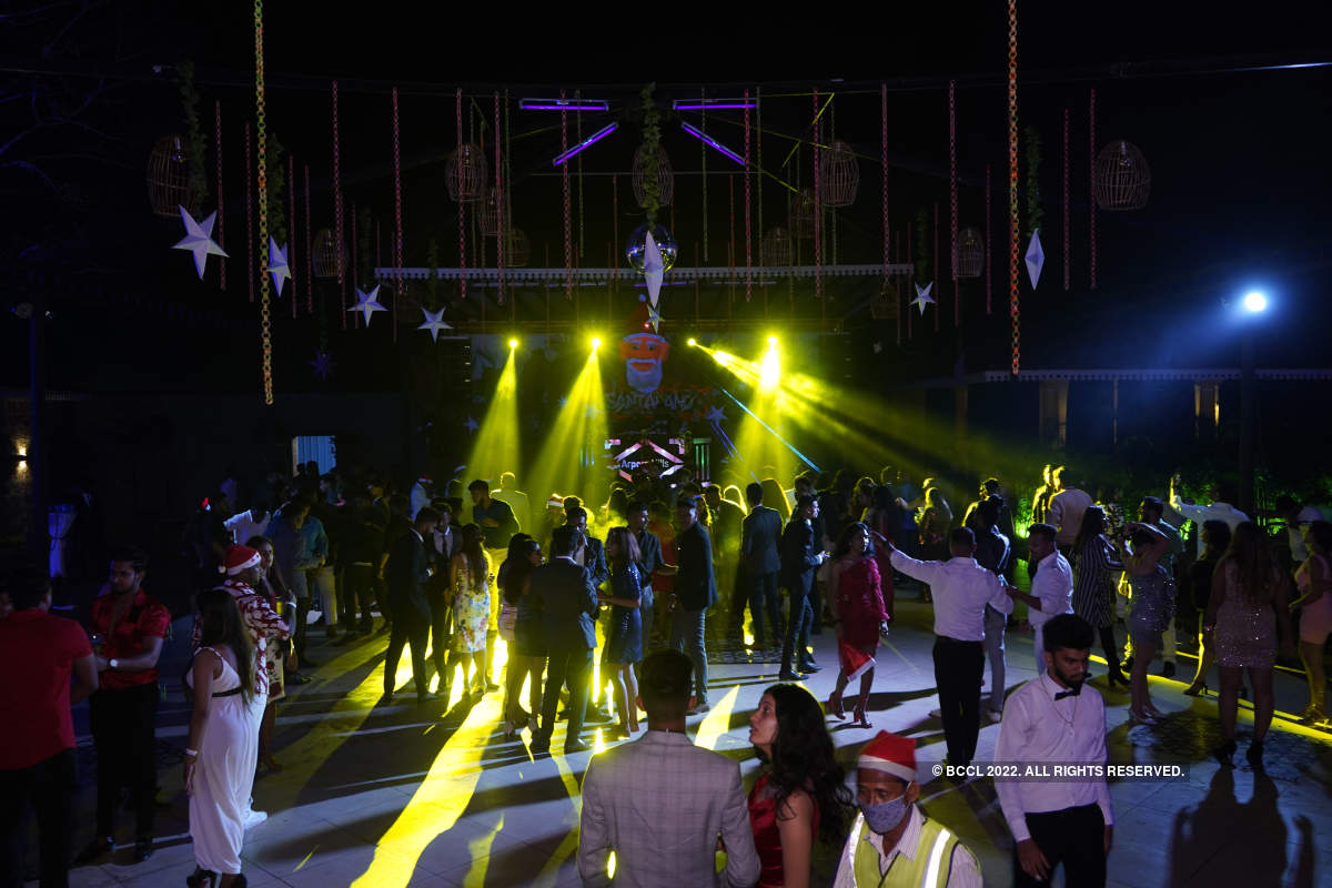 Goans partied the night away