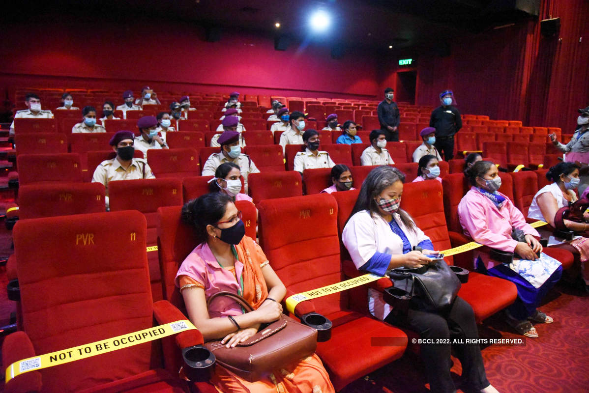 New Delhi multiplex back to showbiz with unsung warriors
