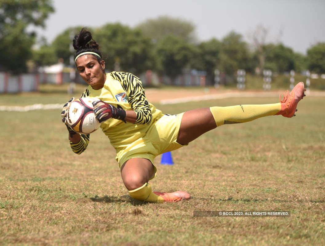 Footballer Aditi Chauhan's exclusive photoshoot