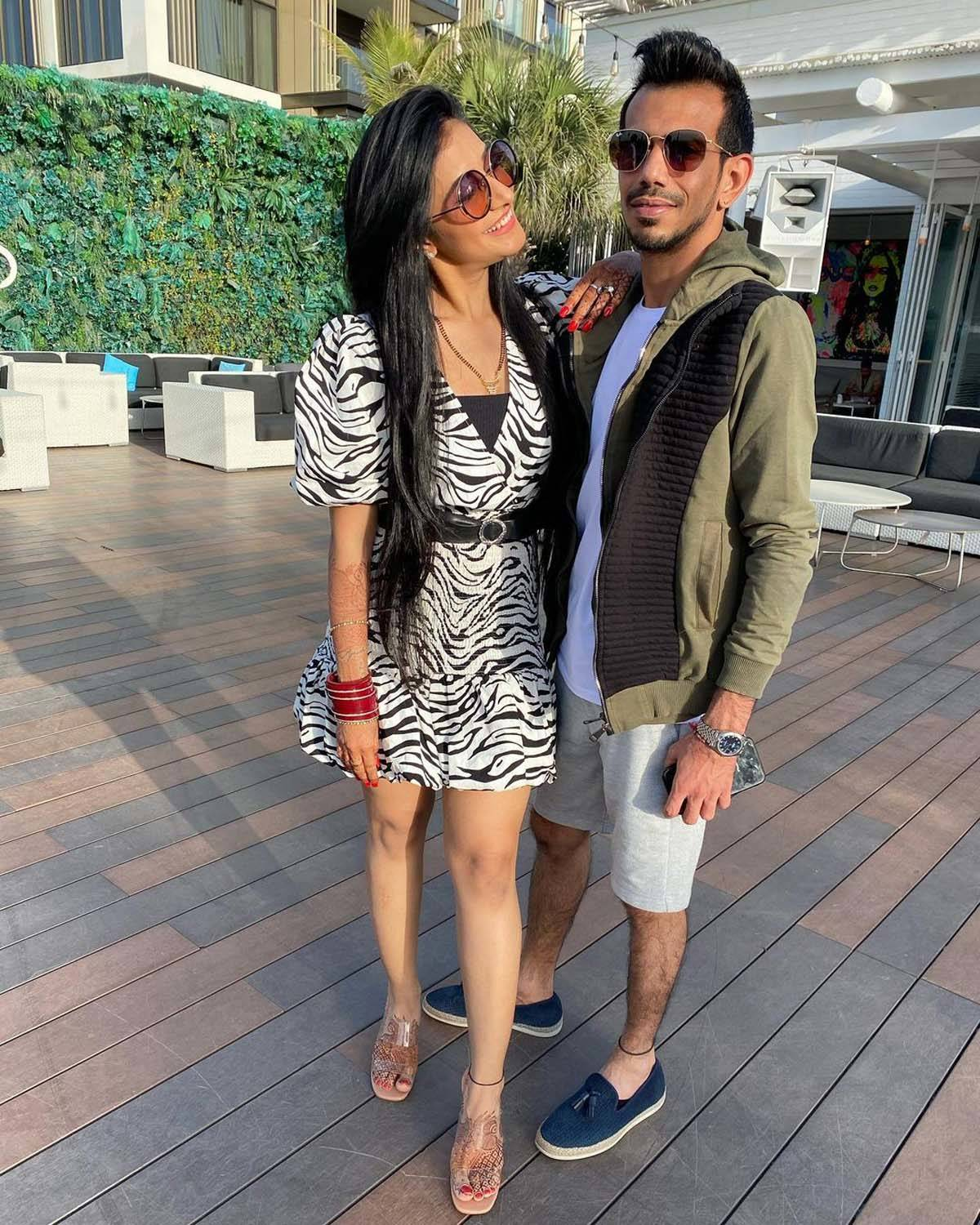 Honeymoon pictures of newly-wed couple cricketer Yuzvendra Chahal & Dhanashree Verma