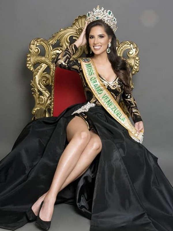 Eliana Roa chosen as Miss Grand Venezuela 2020