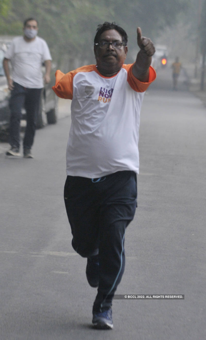 Lucknow Run spreads the message of good health