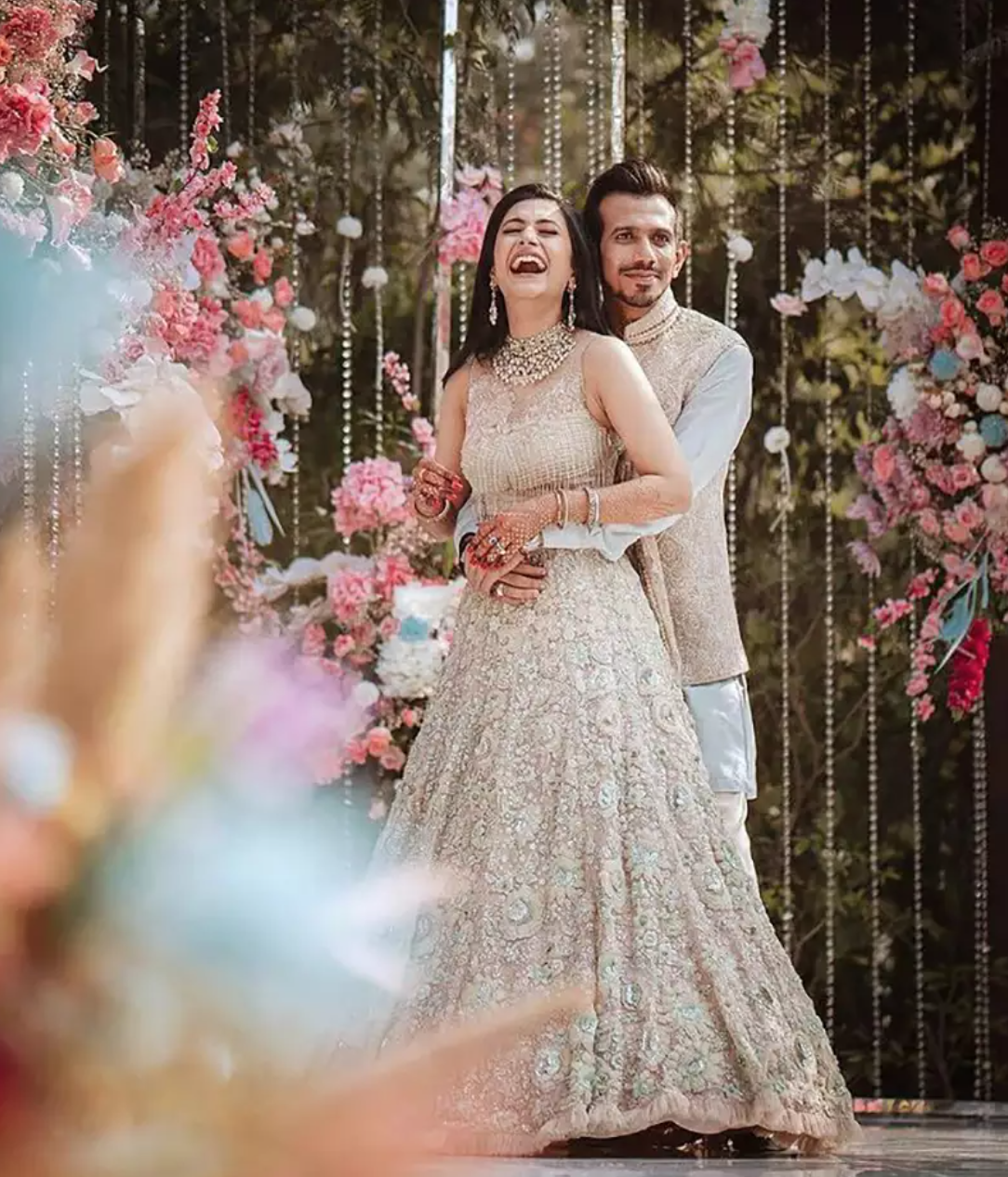 Dreamy wedding pictures of sports stars