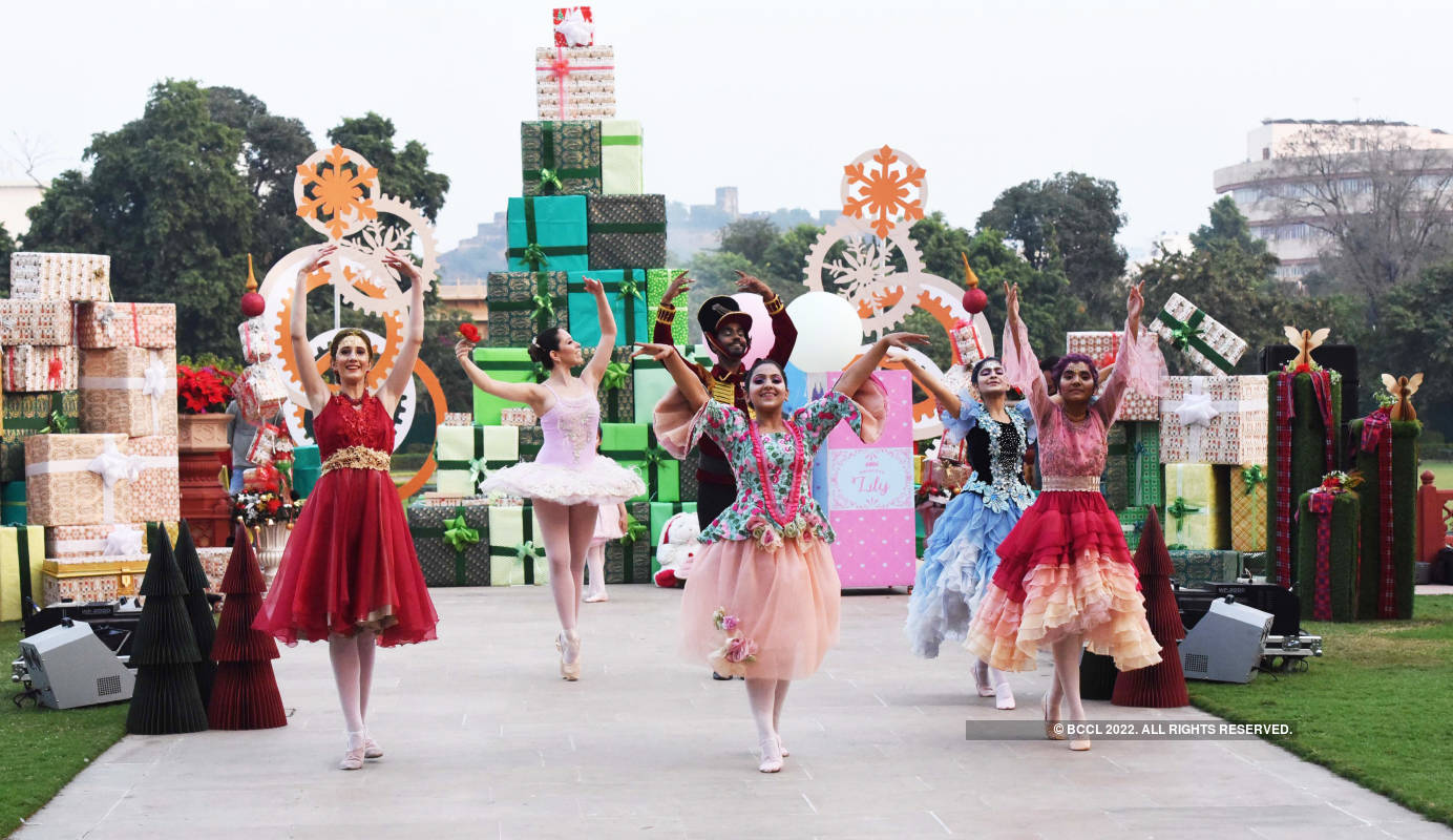 Jaipur indulges in the spirit of Christmas with a carnival