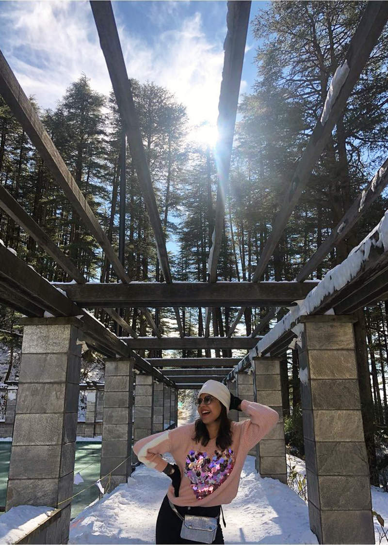 New vacation pictures of newlywed Kajal Aggarwal & Gautam Kitchlu