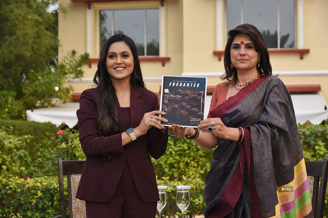 Pictures from Chef Taruna Birla's Cookery Book launch event