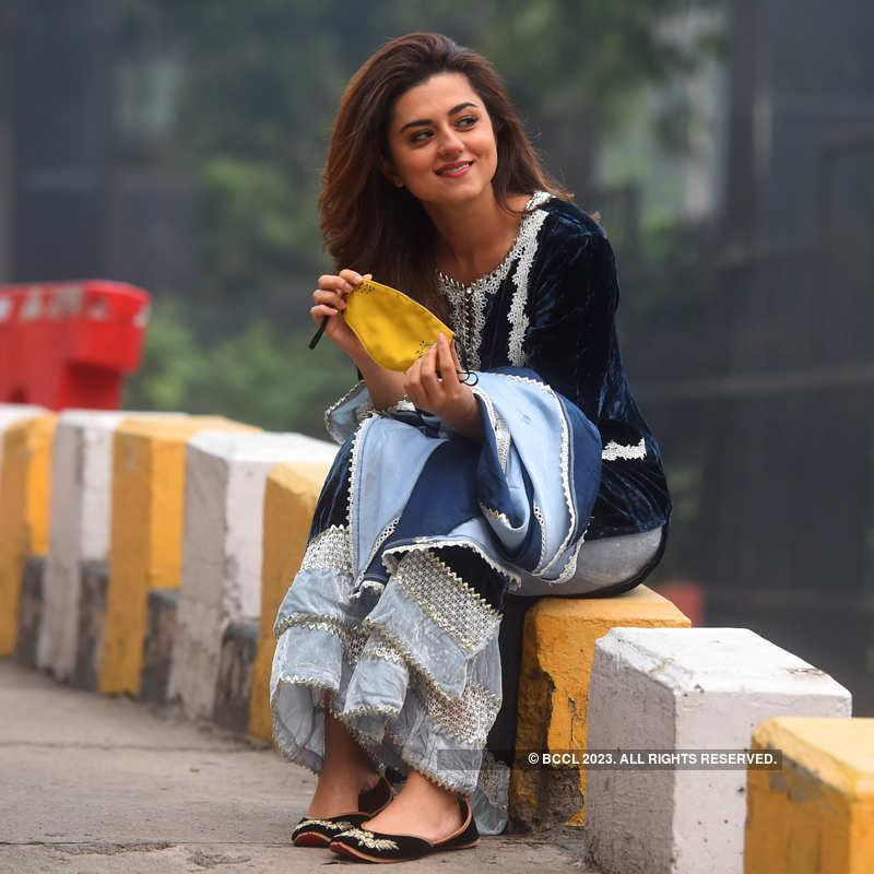 Ridhi Dogra's photoshoot