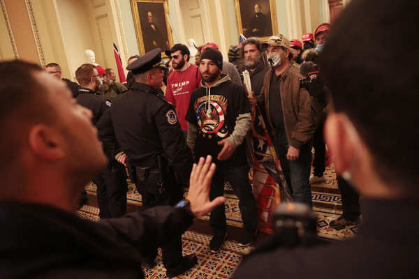 Donald Trump supporters storm US Capitol