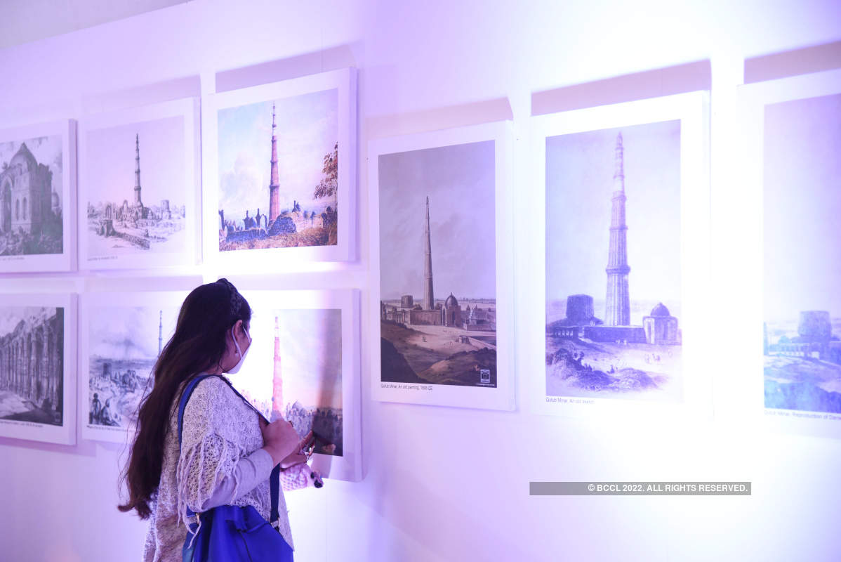 'The Silent Melody of Qutub Minar' on display