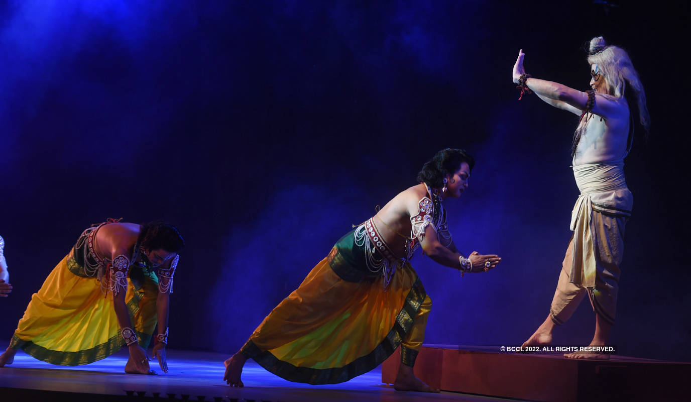 Covid took centre stage at this Ramlila