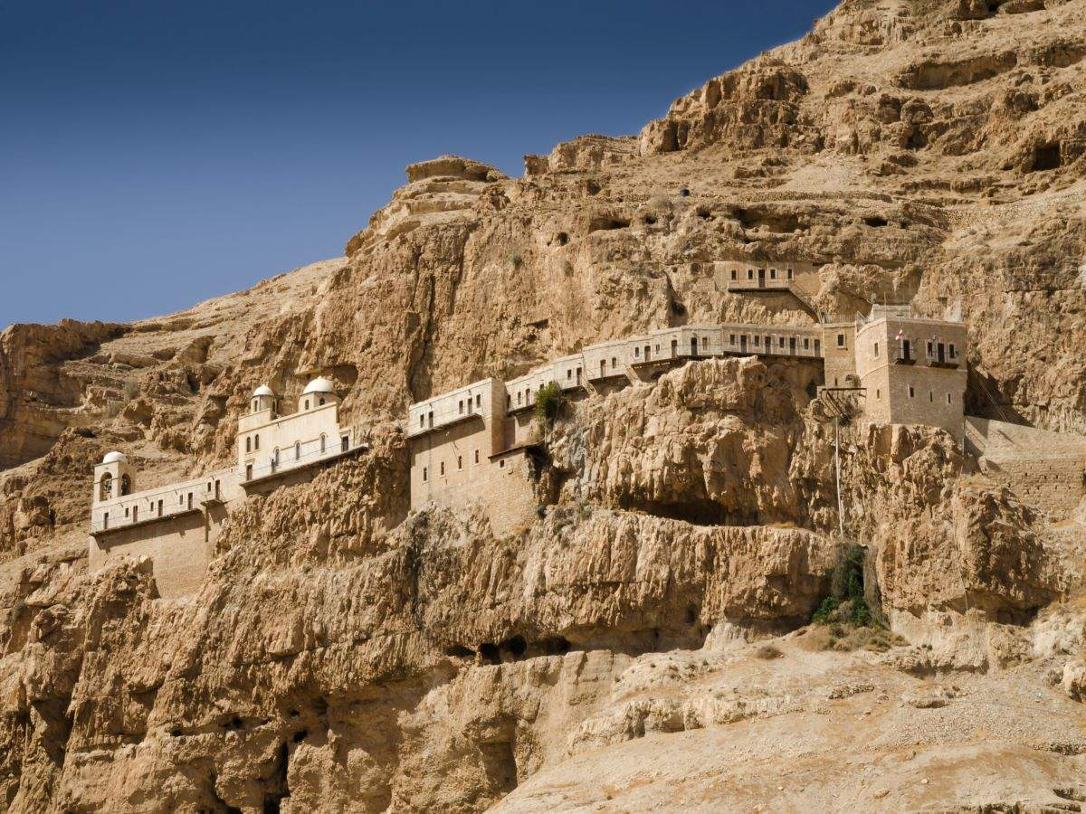 Monastery of Temptation, where Jesus was believed to be tempted by Devil