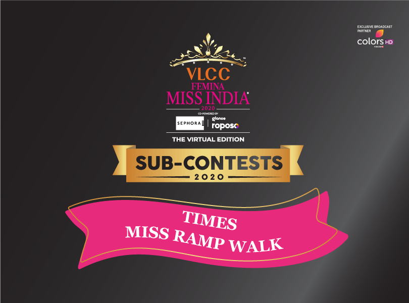 VLCC Femina Miss India 2020: 'Times Miss Ramp Walk' Sub-Contest