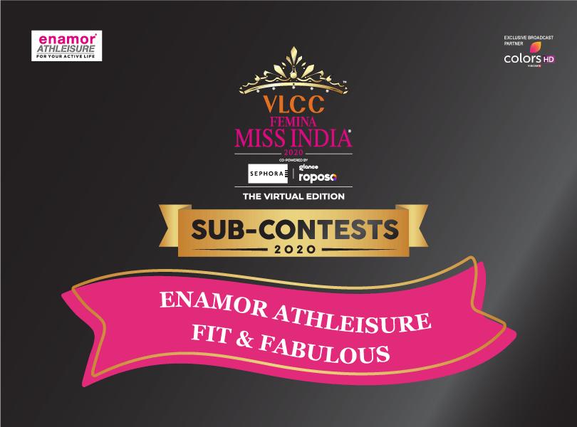 VLCC Femina Miss India 2020: 'Enamor Athleisure Fit and Fabulous' Sub-Contest