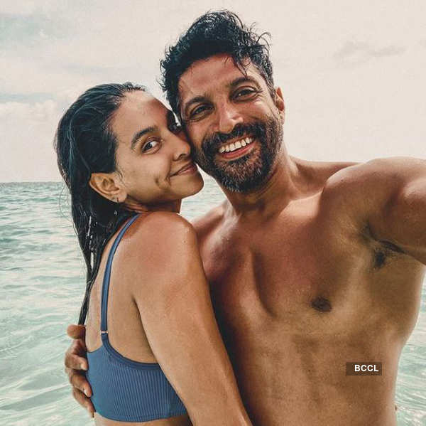 Shibani Dandekar shares loved-up picture on Farhan Akhtar's birthday
