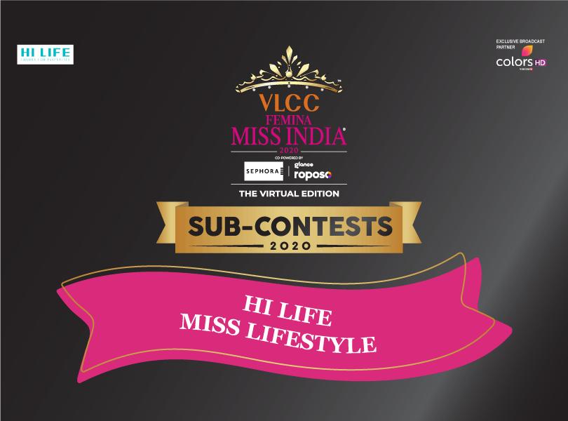 VLCC Femina Miss India 2020: 'Hi Life Miss Lifestyle' Sub-Contest