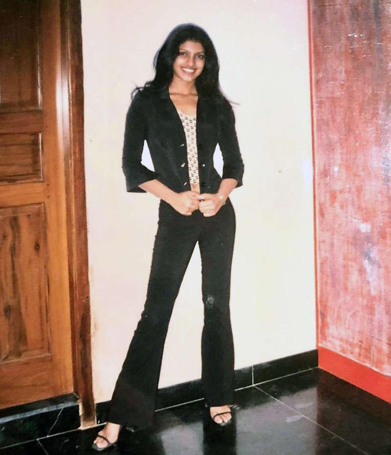 Priyanka Chopra looks unrecognizable in this rare picture