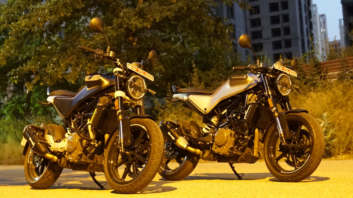 Husqvarna 250 Twins reviewed: Now in pictures
