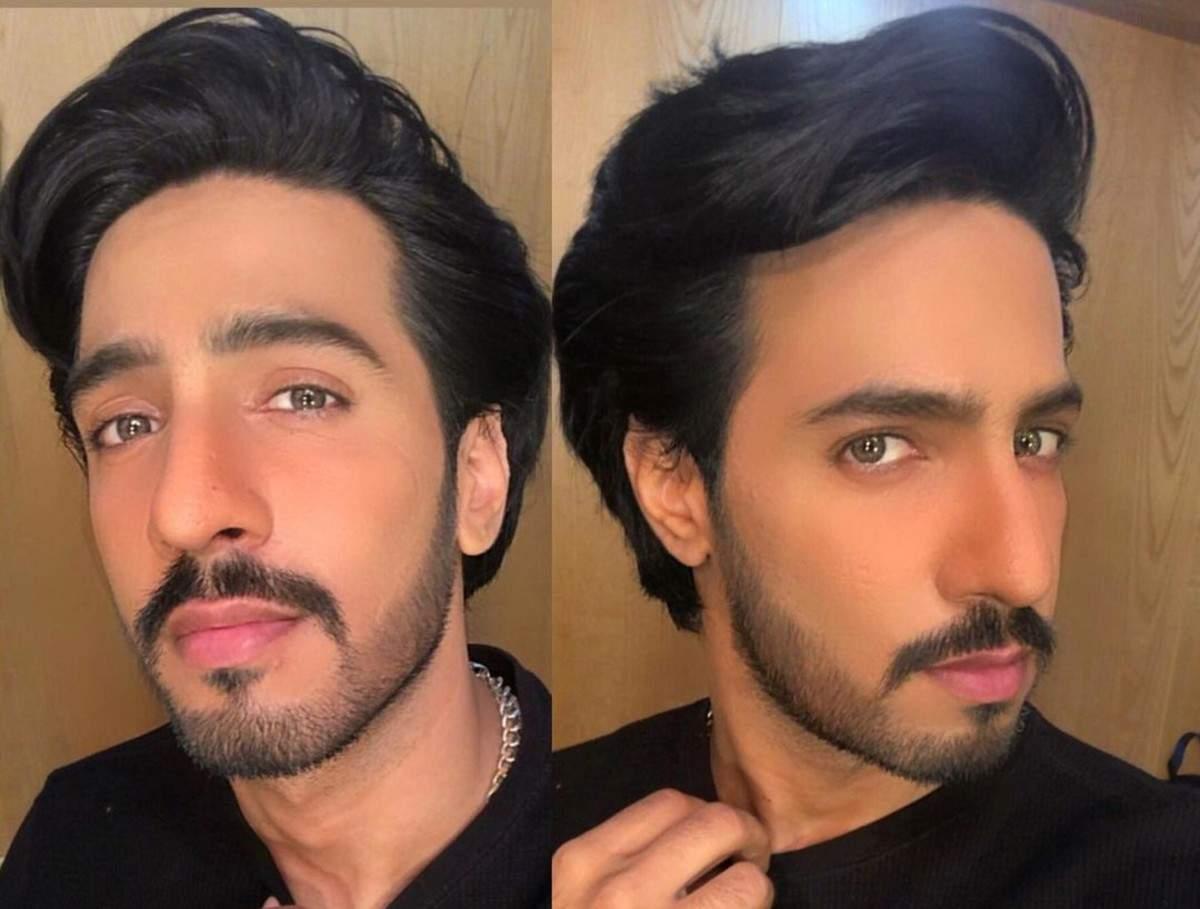 Thakur Anoop Singh in short hair