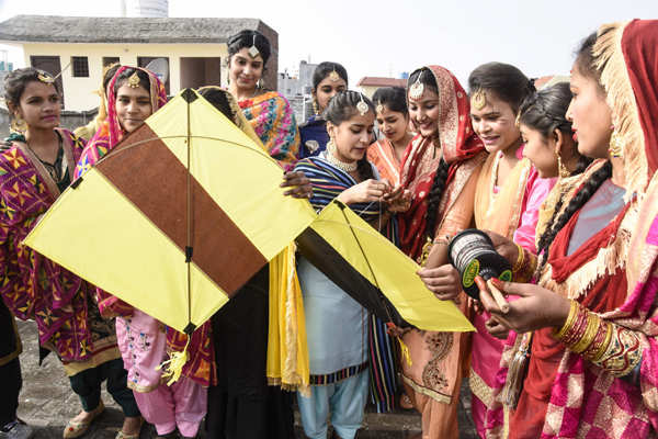 Lohri and Makar Sankranti being celebrated with fervour