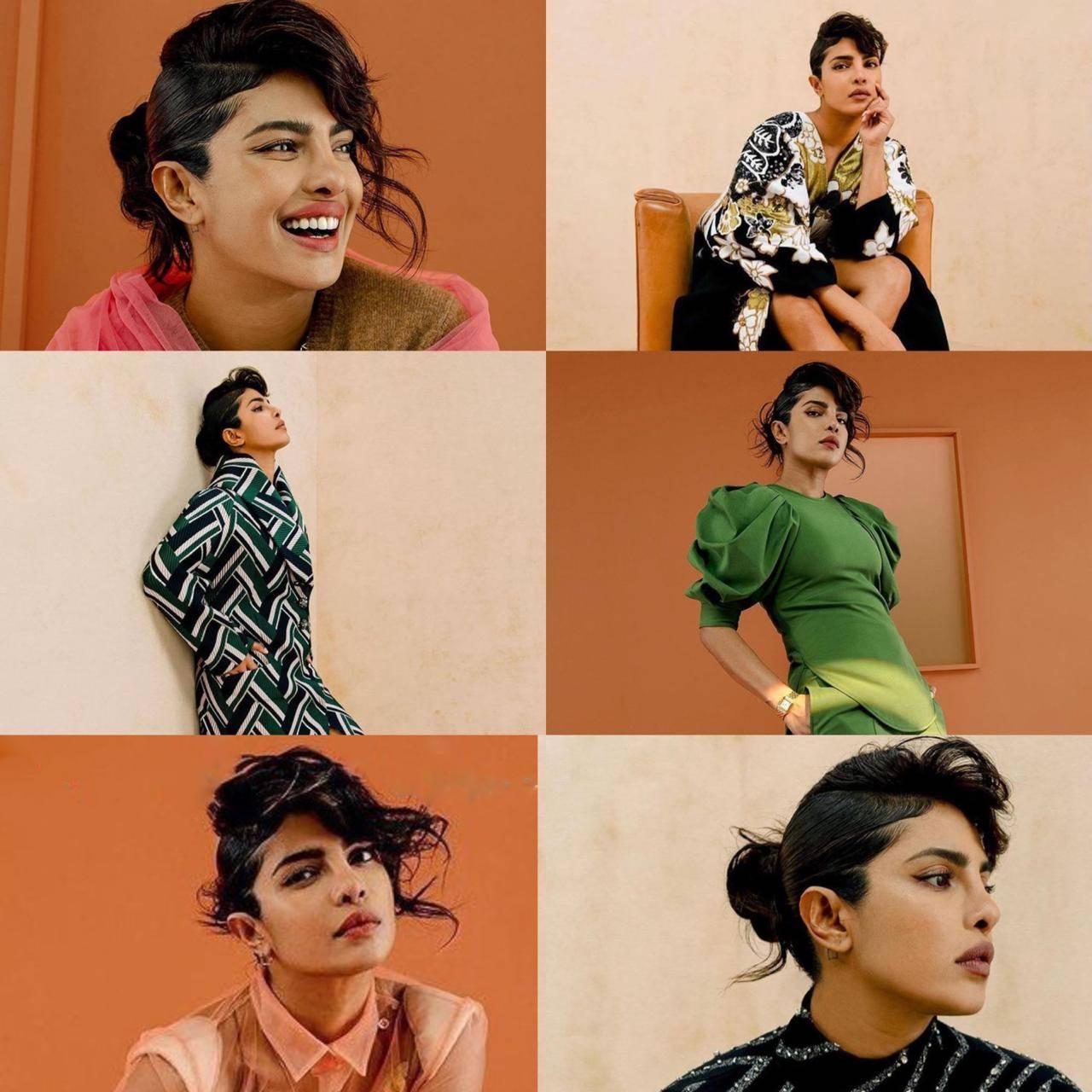Priyanka Chopra Jonas's Stunning Looks From Her Latest Photoshoot Is Breaking the Internet
