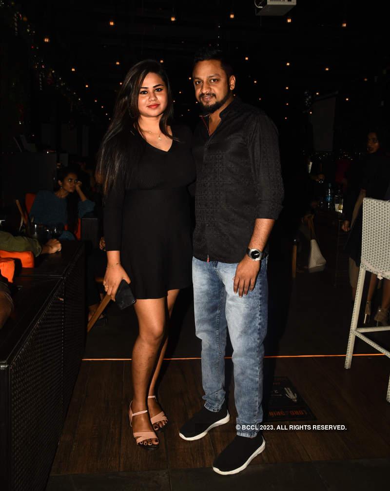 Chennaiites let their hair down at a party