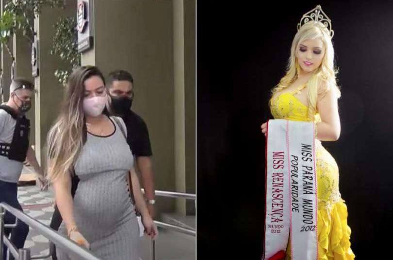 Pregnant beauty queen arrested for faking her kidnapping a decade ago