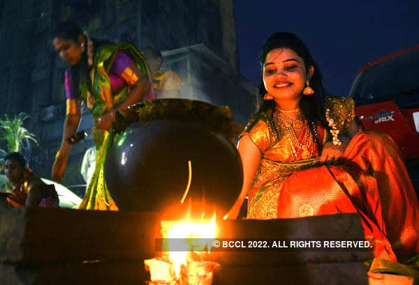 Pongal being celebrated with gusto