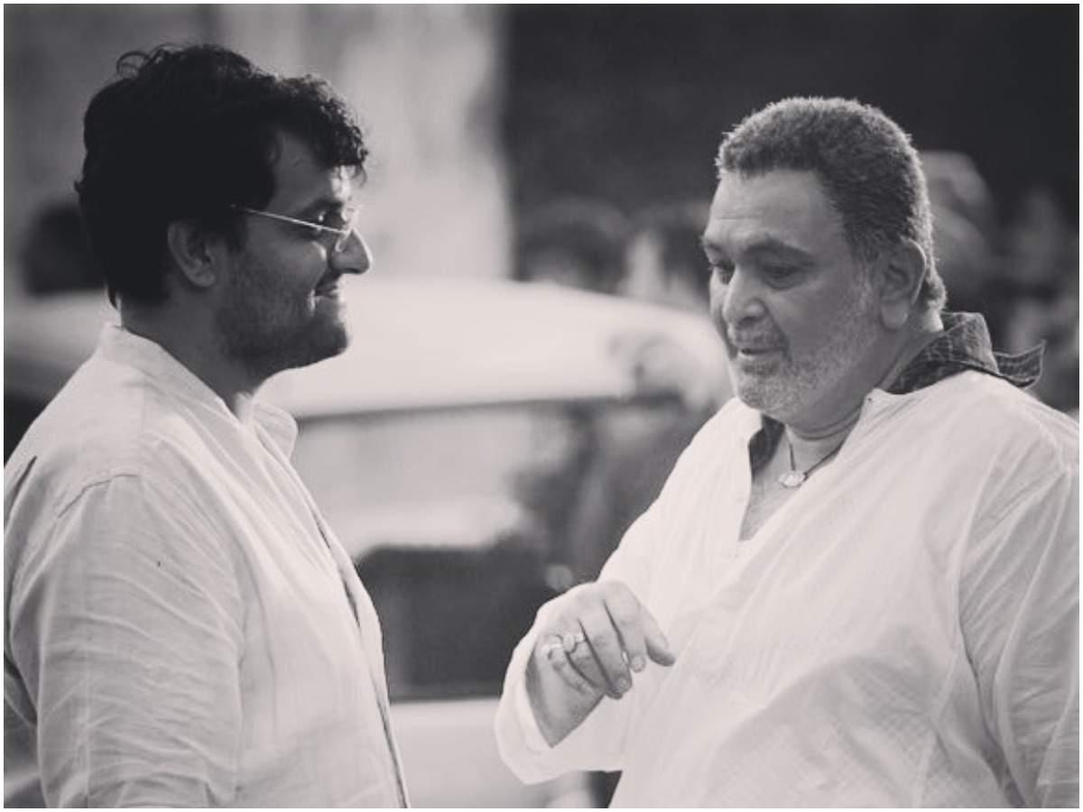 Karan Malhotra and Rishi Kapoor